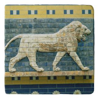 Leeuw die Ishtar vertegenwoordigen Trivet