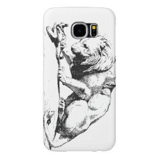 Leeuw en het Serpent Samsung Galaxy S6 Hoesje