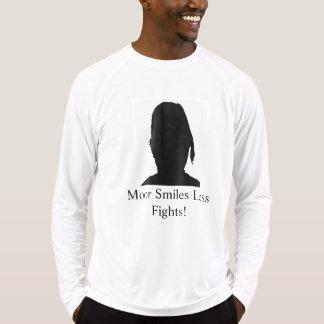 Leg/Meer Glimlachen Minder Strijden M4 vast T Shirt