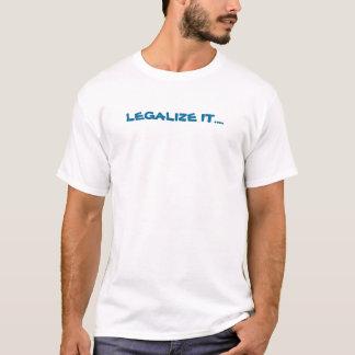 LEGALISEER BLUEGRASS T SHIRT