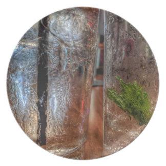 Lege Glazen Melamine+bord