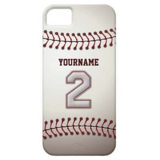 Legende Nummer 2 Shortstop - het Honkbal van de Barely There iPhone 5 Hoesje