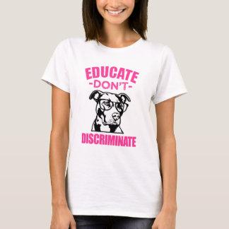 Leid onderscheiden geen Grappige T-shirt Pitbull