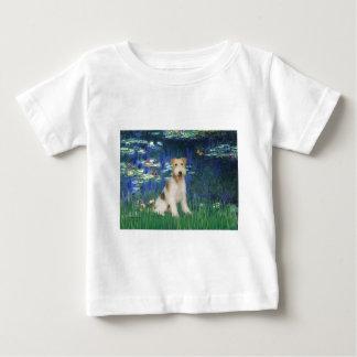Lelies 5 - de Fox-terrier van de Draad #1 Baby T Shirts