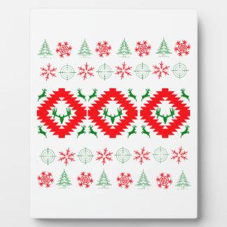 Lelijke Kerstmis 1 Fotoplaat
