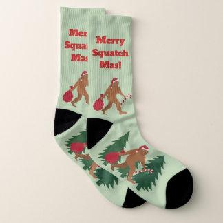 Lelijke Kerstmis van Bigfoot LRG van de Vakantie Sokken