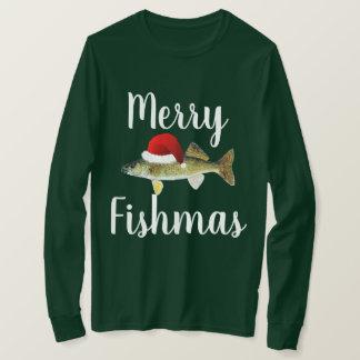 Lelijke Kerstmis van snoekbaarzen T Shirt