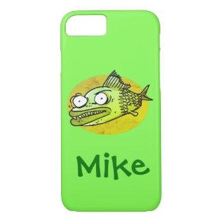 lelijke vissen grappige cartoon iPhone 8/7 hoesje