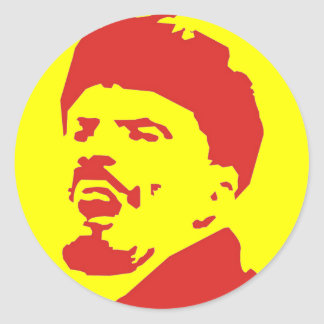 Lenin Ronde Sticker