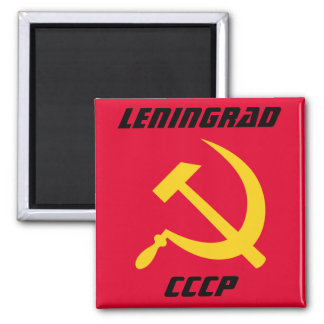 Leningrad, CCCP Sovjetunie, St. Petersburg Koelkast Magneten