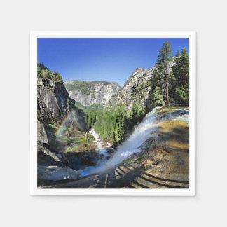 Lente Herfst vanaf de Bovenkant - Yosemite Papieren Servet