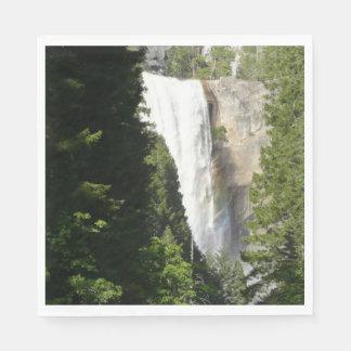 Lente Herfsten II in Nationaal Park Yosemite Wegwerp Servetten