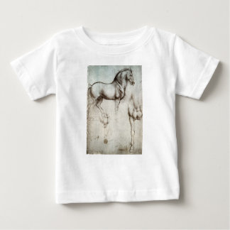 Leonardo da Vinci - Studie van een Paard Baby T Shirts