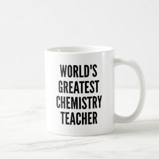 Leraar van de Chemie van werelden de Grootste Koffiemok