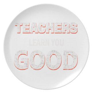 Leraren die goed u gaan leren bord