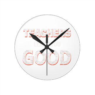 Leraren die goed u gaan leren ronde klok