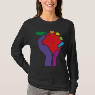 Leraren Verenigde Regenboog voor zwart overhemd T Shirt