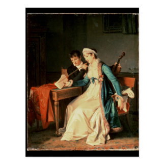 Les van de Muziek, 1790 Briefkaart