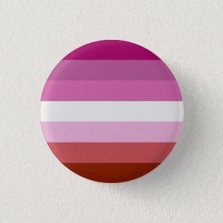 Lesbische trotsknoop ronde button 3,2 cm