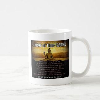 Lessen van Time_Karma Koffiemok