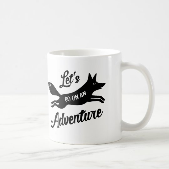 Let's Go On An Adventure White Mug Koffiemok