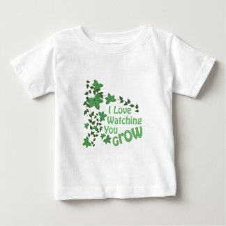 Lettend op groeit u baby t shirts