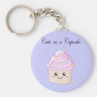 Leuk als Cupcake Sleutel Hanger