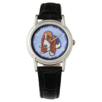 Leuk Basset Hound Horloges