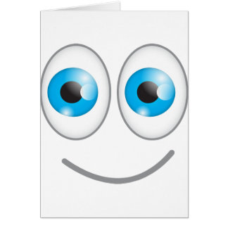 Cartoon ogen wenskaarten notitiekaarten extra grote wenskaarten - Ogen grappig ...