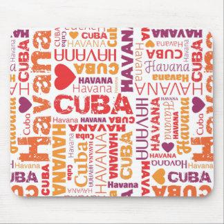 Leuk Cuba Havana souvernir mousepad Muismat