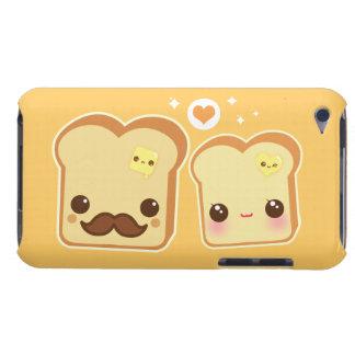 Leuk de toostspaar van Kawaii iPod Touch Hoesje