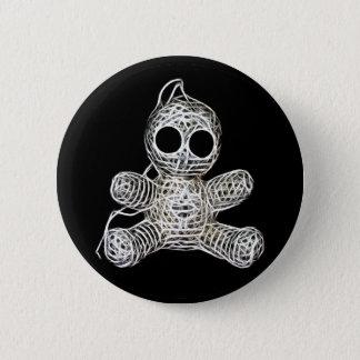 Leuk Doll van het Voodoo Amigurumi Ronde Button 5,7 Cm