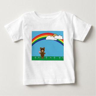 Leuk draag de T-shirt van het Baby