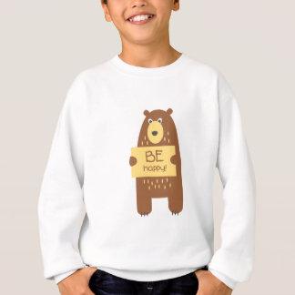 Leuk draag met een teken voor tekst trui