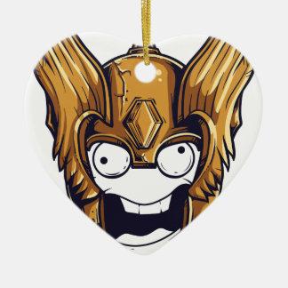 leuk eng ontwerp keramisch hart ornament