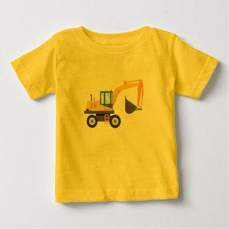 Leuk Geel Graafwerktuig voor Kind Baby T Shirts