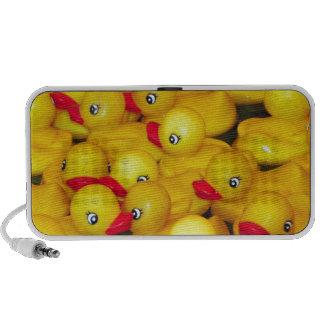 Leuk geel rubber duckies luidspreker
