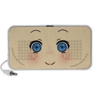 Leuk Gezicht Anime iPod Speakers