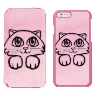 Leuk Groot Eyed het Gluren van de Kat Roze