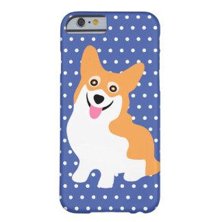 Leuk het Glimlachen Puppy Pembroke Wels Corgi Barely There iPhone 6 Hoesje