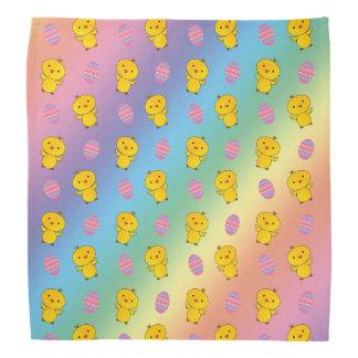 Leuk het kuikenPasen van het regenboogbaby patroon Bandana