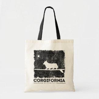 Leuk het Surfen Corgi van Californië Corgifornia Draagtas