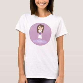 Leuk het t-shirtoverhemd van de cartoonBruid T Shirt