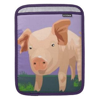 Leuk iPad Sleeve Piggy
