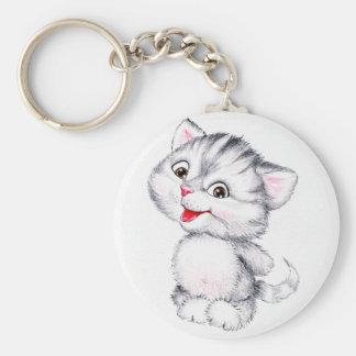 Leuk katje sleutelhanger