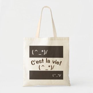 Leuk La Emoji - C'est vie - Canvas tas