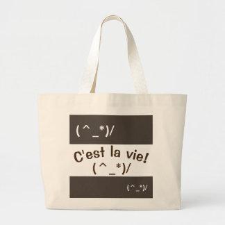 Leuk La Emoji - C'est vie - JumboCanvas tas