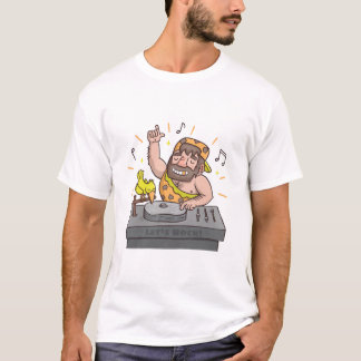 Leuk laat het T-shirt van Deejay van de Holbewoner