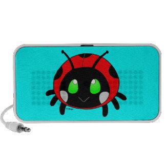 Leuk lieveheersbeestje luidspreker systeem