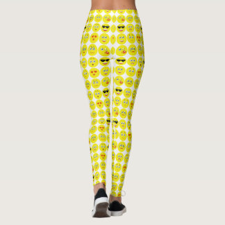 Leuk Patroon Emoji Leggings
